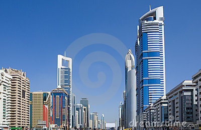 Sheikh-Zayed-Road, Dubai