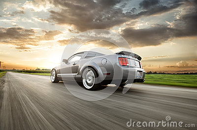 Shelby GT500 Editorial Photography