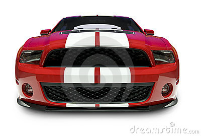 Shelby Mustang Front