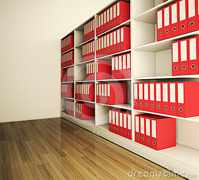 Shelf archive folder