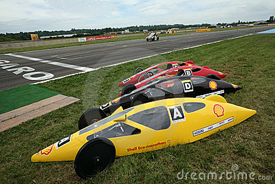 Shell Eco Marathon in France Editorial Photography