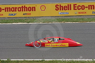 Shell Eco Marathon in France Editorial Stock Photo