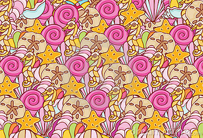 Shell Repeating Pattern