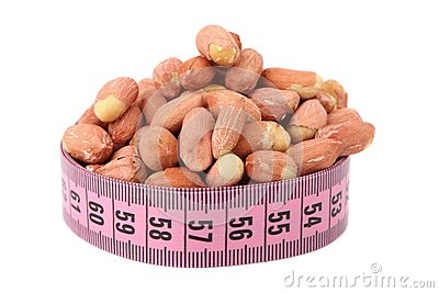 Shelled peanut and meter