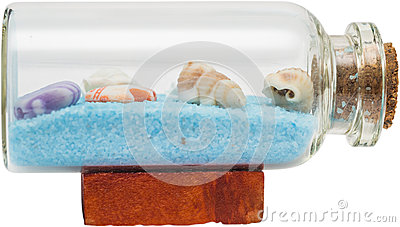 Shells In Bottle
