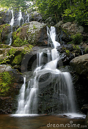 Shenandoah waterfall