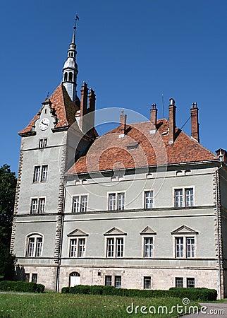 Free Shenborn Castle Royalty Free Stock Photos - 10598798