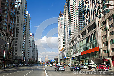 Shenyang center Editorial Image