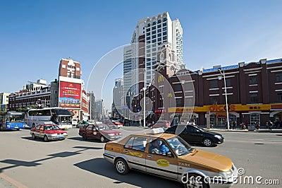 Shenyang city Editorial Stock Image