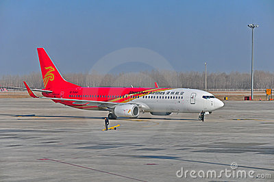 Shenzhen airlines Editorial Photography