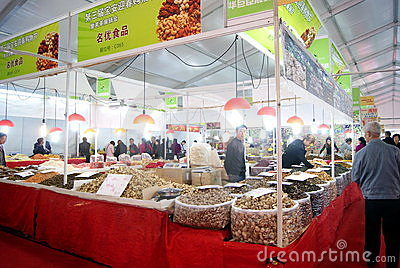 Shenzhen china: baoan shopping festival Editorial Image