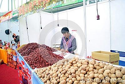 Shenzhen china: baoan shopping festival Editorial Stock Photo