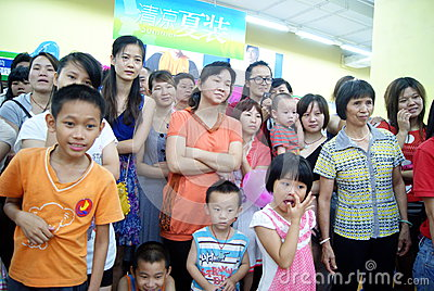 Shenzhen china: children s day activity Editorial Image
