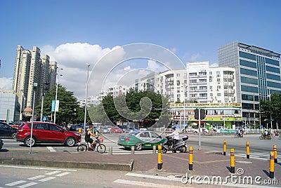 Shenzhen, China: City Road Traffic