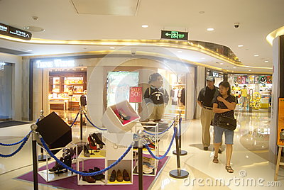 Clothes stores. The underground clothing store