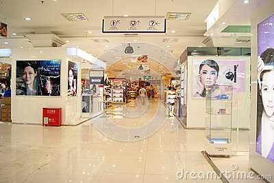 Shenzhen china: haiya department store Editorial Stock Photo