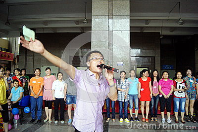 Shenzhen china: mother s day activity Editorial Stock Photo