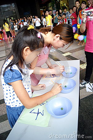 Shenzhen china: mother s day activity Editorial Image