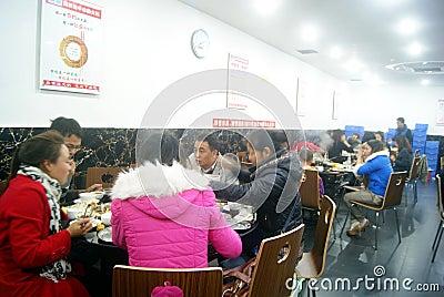 Shenzhen, china: self-help hot pot restaurant