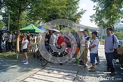 Shenzhen, China: Street Music Concert