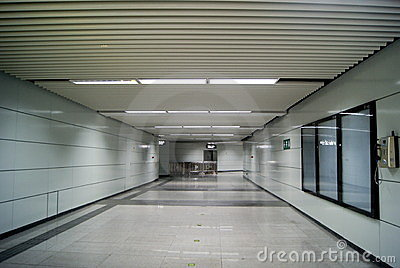 Shenzhen china: subway station of the pedestrian s