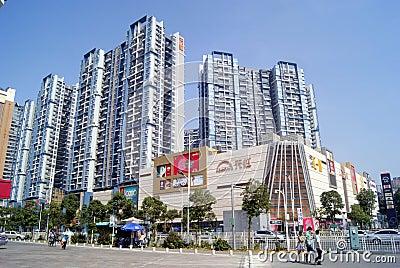 Shenzhen, china: tian hong mall Editorial Photography