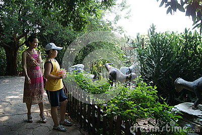Shenzhen, China: window of the world tourism scenic area Editorial Stock Image
