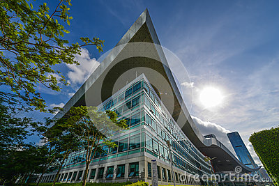 Shenzhen Civic Center Editorial Stock Image