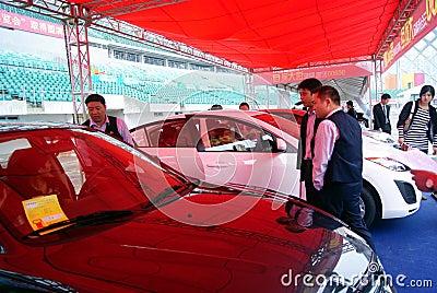 Shenzhen motor show Editorial Photo