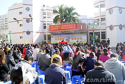 Shenzhen: parents education lecture Editorial Photo