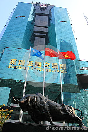 Shenzhen Stock Exchange Editorial Image