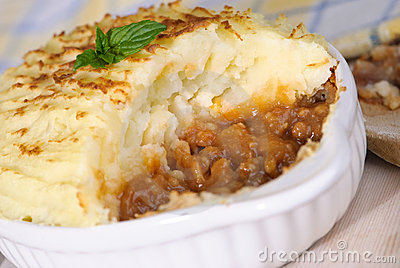 Royalty Free Stock Images: Shepherds Pie Close Up. Image: 9106929