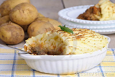 Shepherds Pie Table