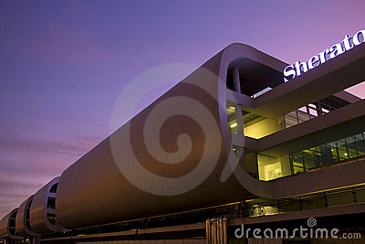 Sheraton Hotel Malpensa Airport Editorial Photo