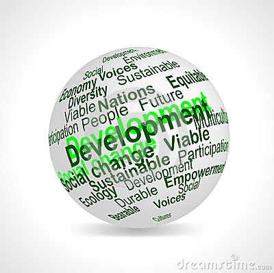 Sustainable Development terms sphere