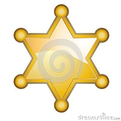 Free Sheriff Badge Stock Photo - 8841930