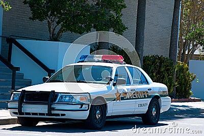 Sheriff cruiser police car