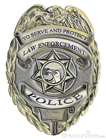 Free Sheriff Law Enforcement Police Badge Stock Images - 21476134