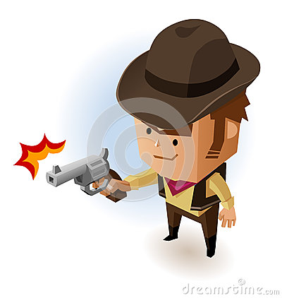 Sheriff with Revolver