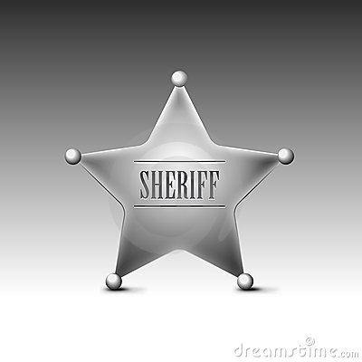 Sheriff s badge