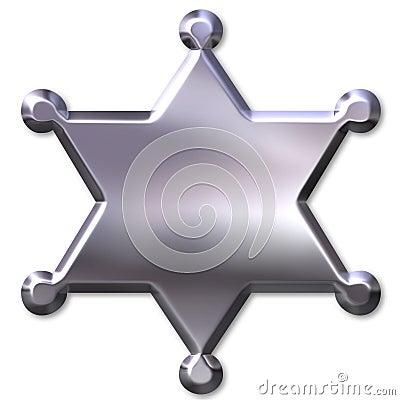 Sheriff s Badge