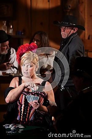 Sheriff Watches Showgirl Cheat