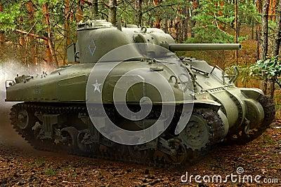 Sherman M42 tank