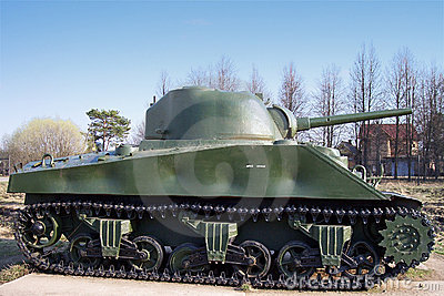 Sherman WW2 Tank