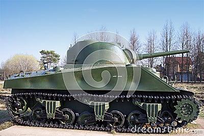 Sherman WW2 Tank