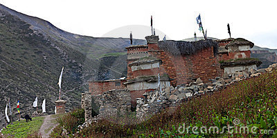 Shey Gompa - Ancient buddhist stupa