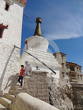 Shey Palace and Shrine, Ladakh,  India Editorial Stock Photo