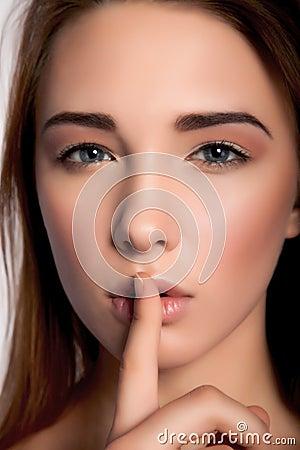 Free Shhhhh Royalty Free Stock Photo - 39986775