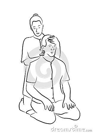 Shiatsou massage