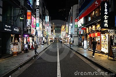 Shibuya Editorial Photo